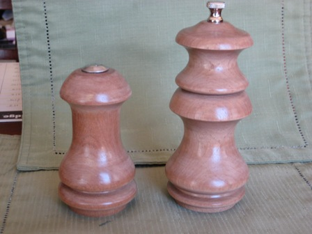 Satinwood Salt and Pepper 1 small